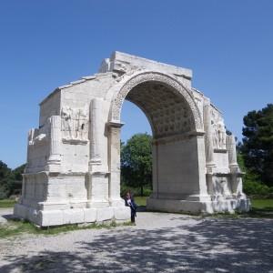 Roman arch in Les Alpilles