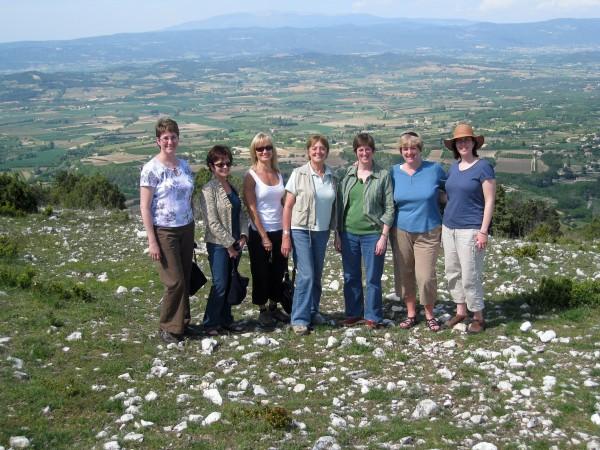 On the Petit Luberon mountain