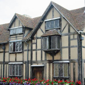 Shakespeare's birthplace - Stratford-upon-Avon
