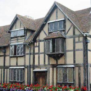 Shakespeare's birthplace - Stratford-upon-Avon