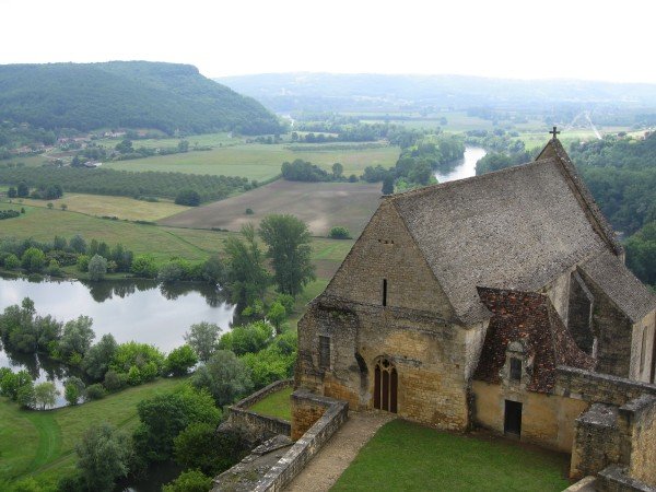 View from Beynac Castle - The Périgord Experience