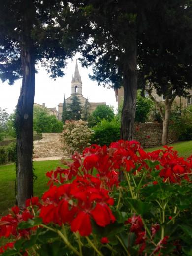 Clos du Buis garden
