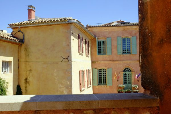 Roussillon view - The Luberon Experience week in Provence
