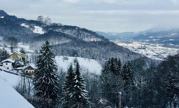 Austrian Alps near Hallein - European Christmas Experience