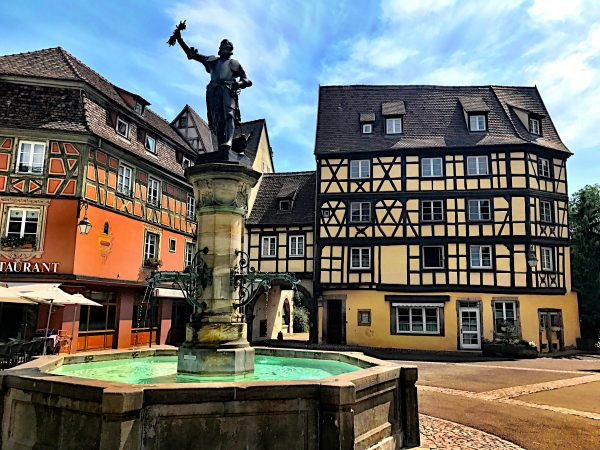 Schwendi fountain in Colmar, Alsace Experience