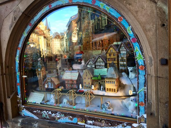 Colmar window, European Christmas Experience