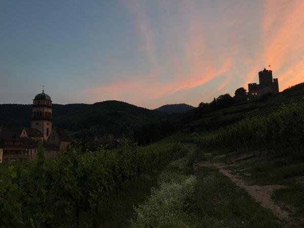 Kaysersberg sunset, Alsace Experience