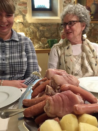 Choucroute dinner, Alsace Experience