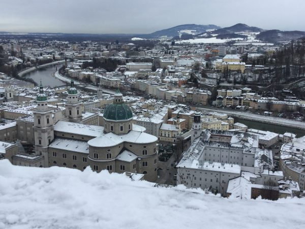 Salzburg in the snow, European Christmas Experience