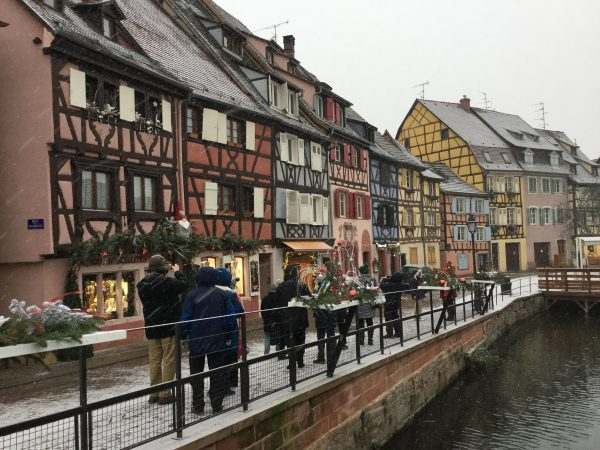 Colmar in the snow, European Christmas Experience