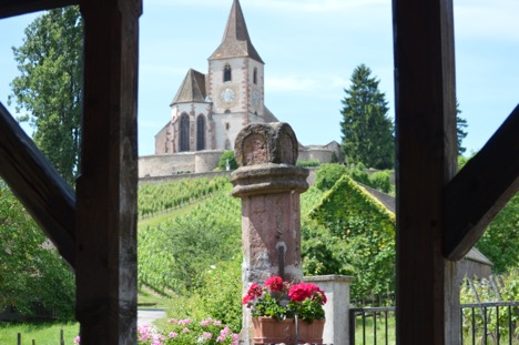 Hunawihr church, Alsace Experience