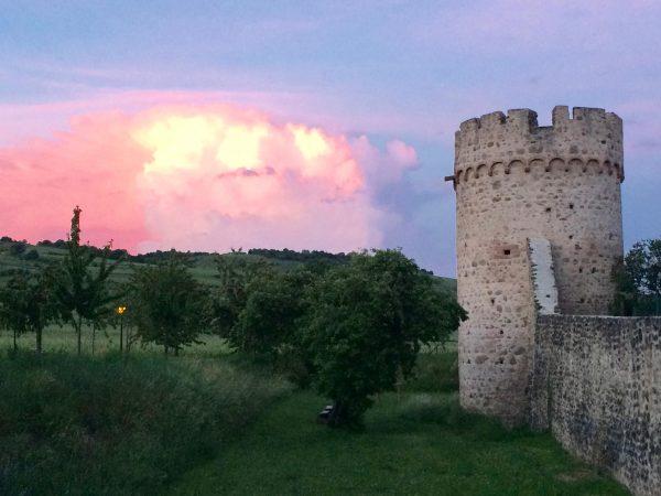 Kientzheim sunset, Alsace Experience