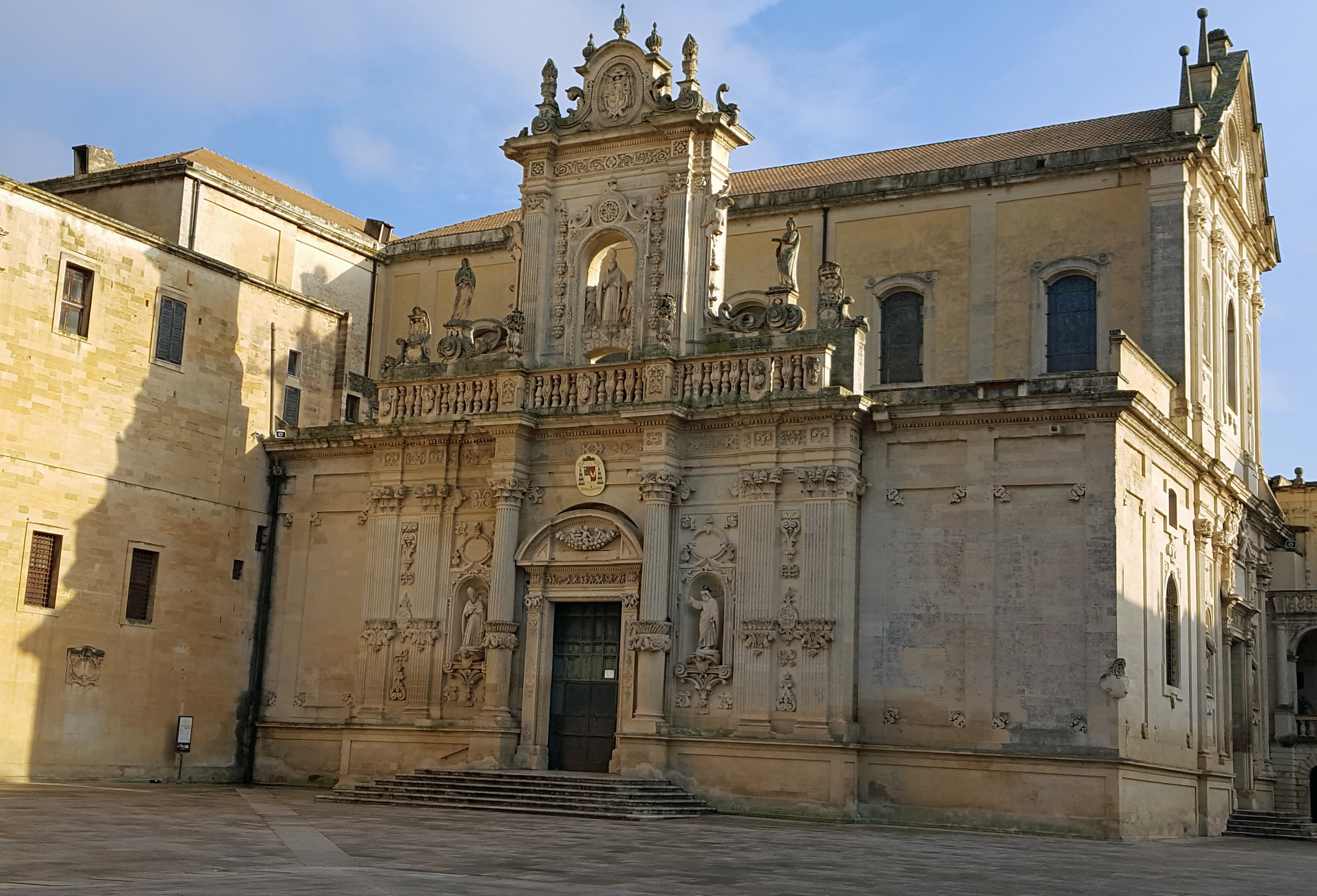 The duomo of Lecce