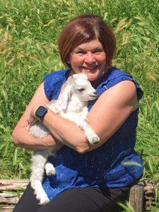 At Nora's Chianti Cashmere goat farm