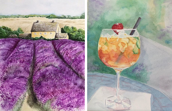 Cotswolds Experience - Freda art