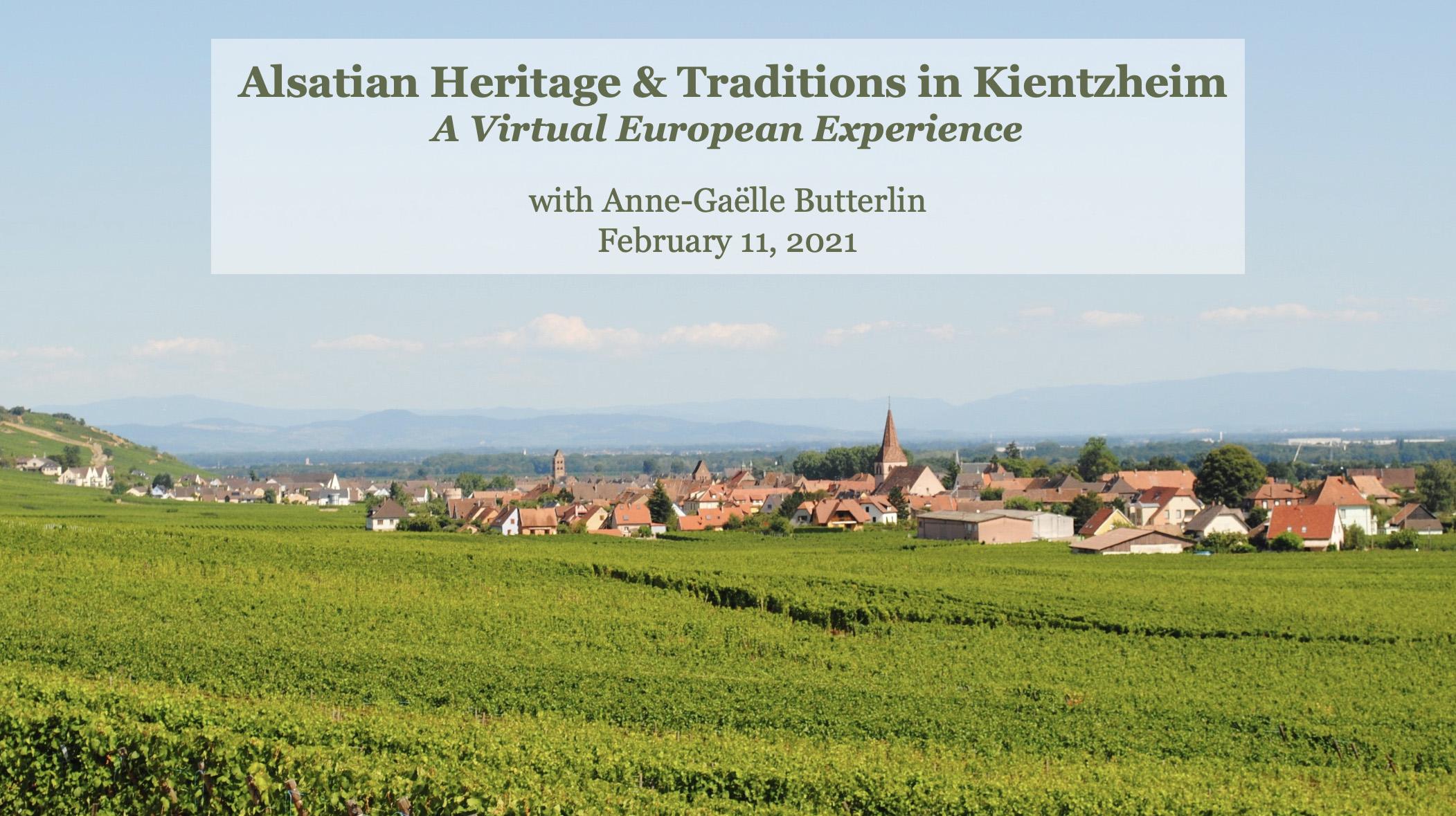 Alsatian Heritage and Traditions in Kientzheim