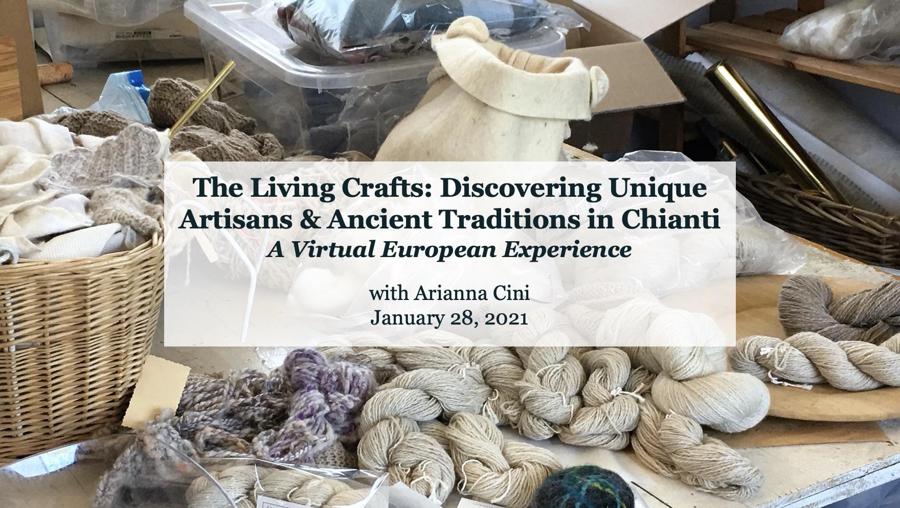 Living Crafts in Chianti