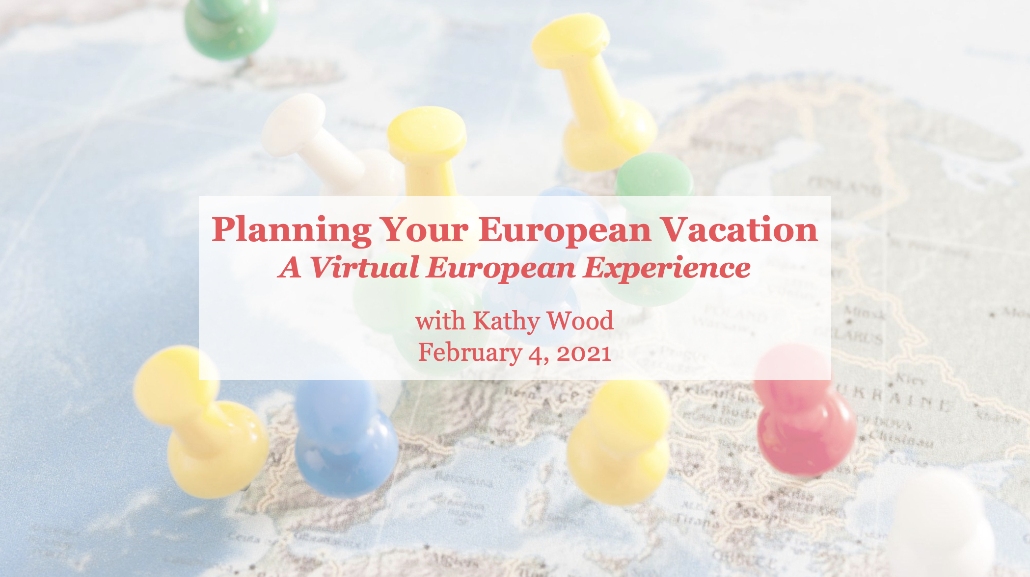 Planning Your European Vacation