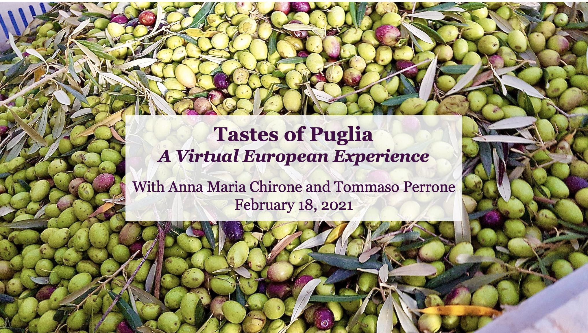 Tastes of Puglia