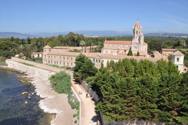 abbey on an island