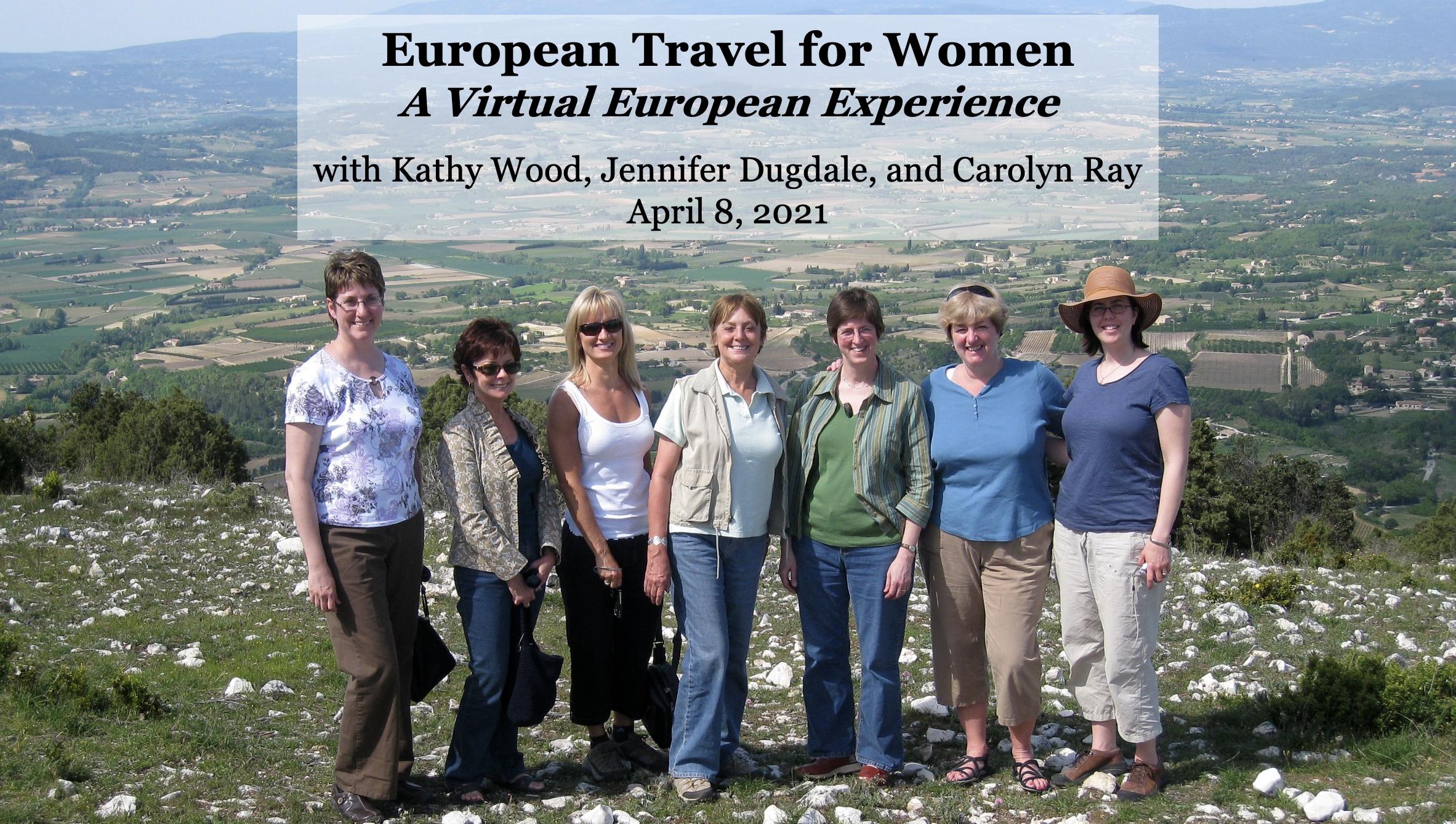 European Travel for Women