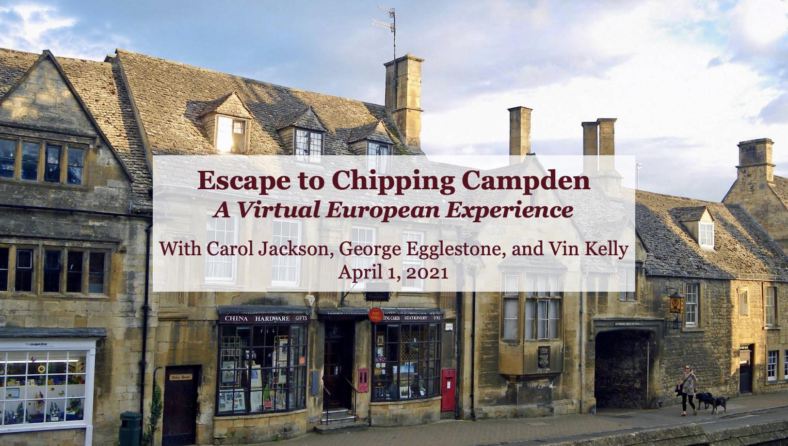 Escape to Chipping Campden