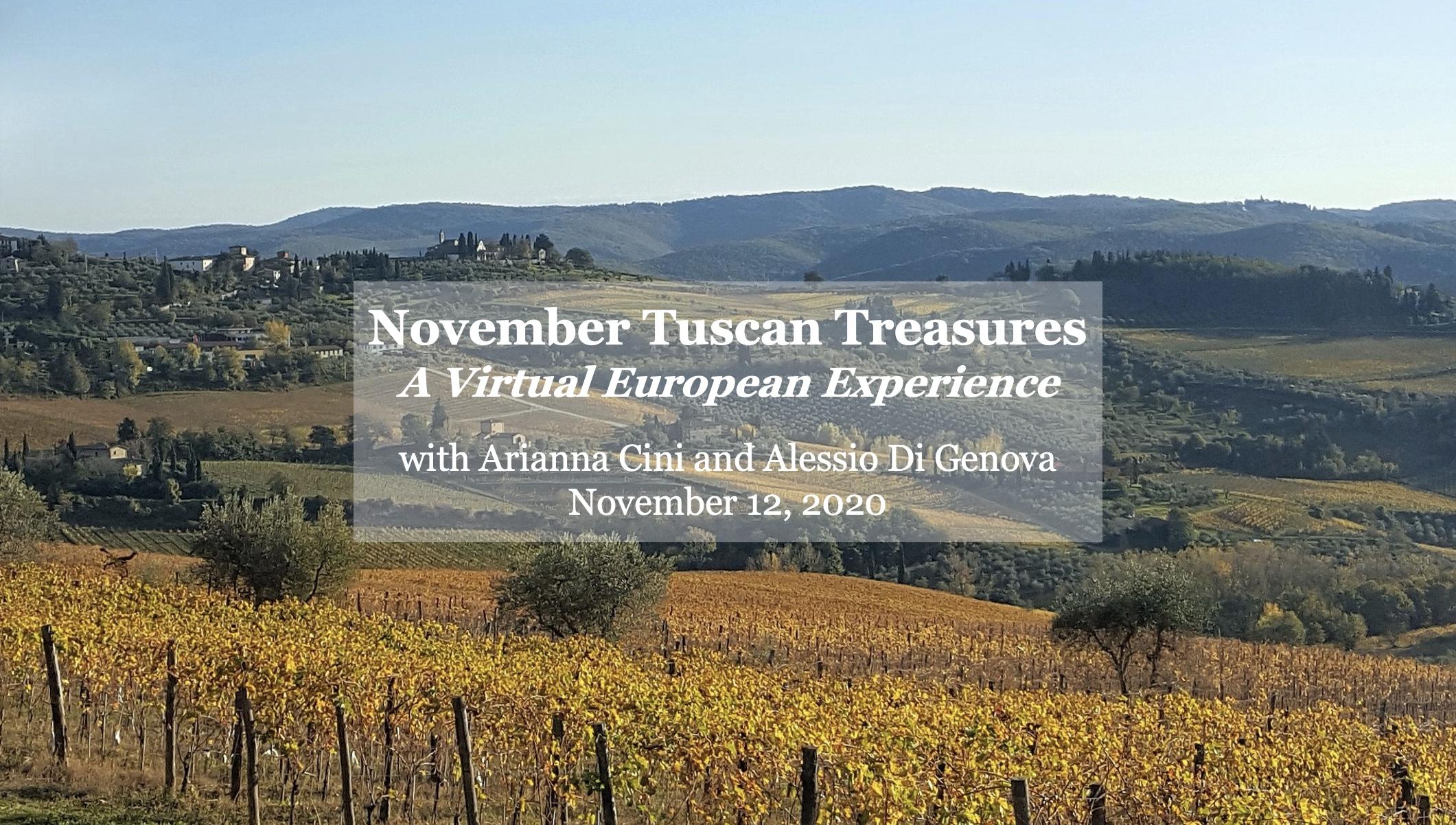 November Tuscan Treasures