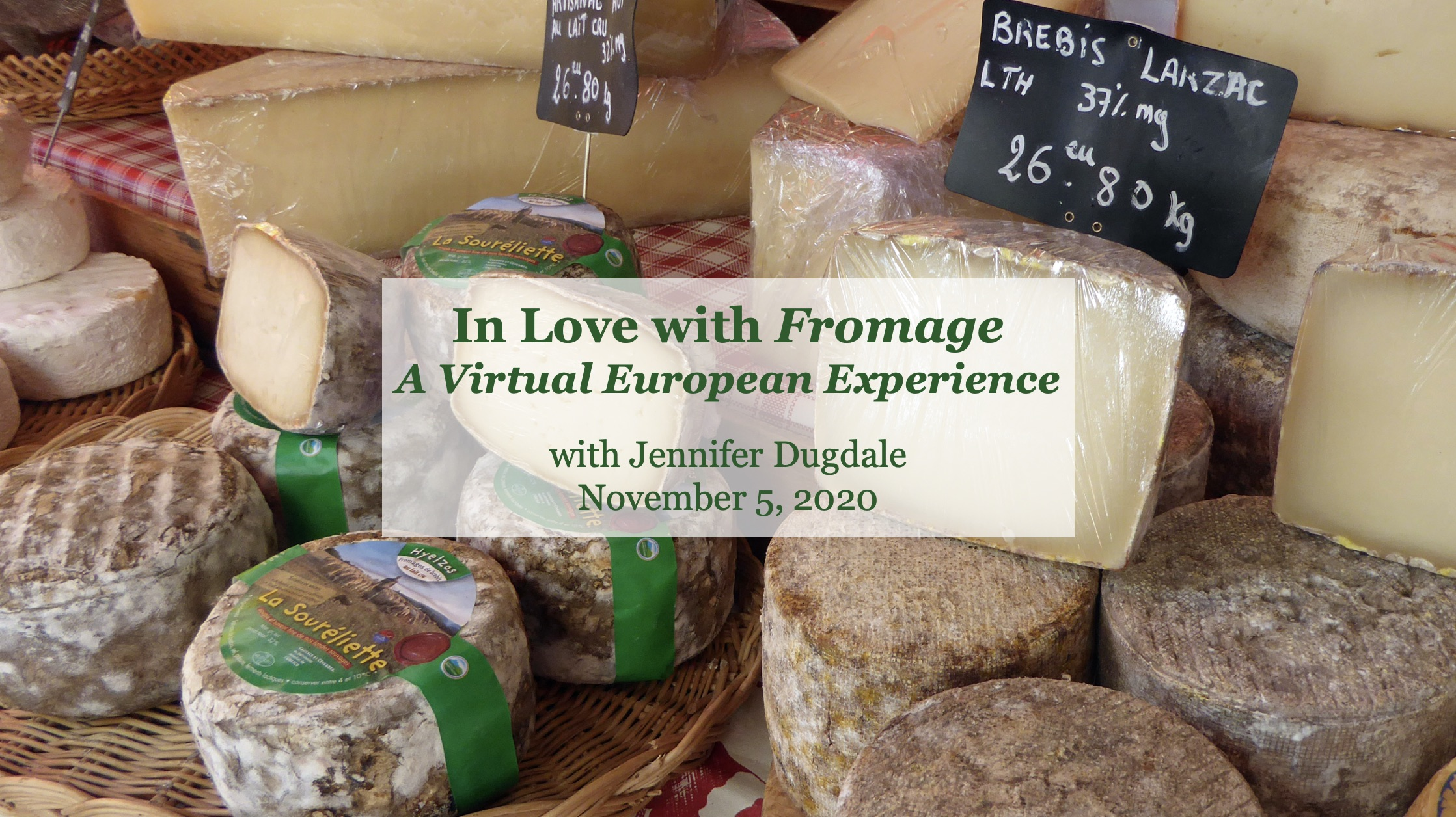 In Love with Fromage