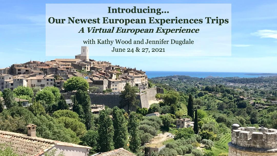 Introducing our Newest European Experiences