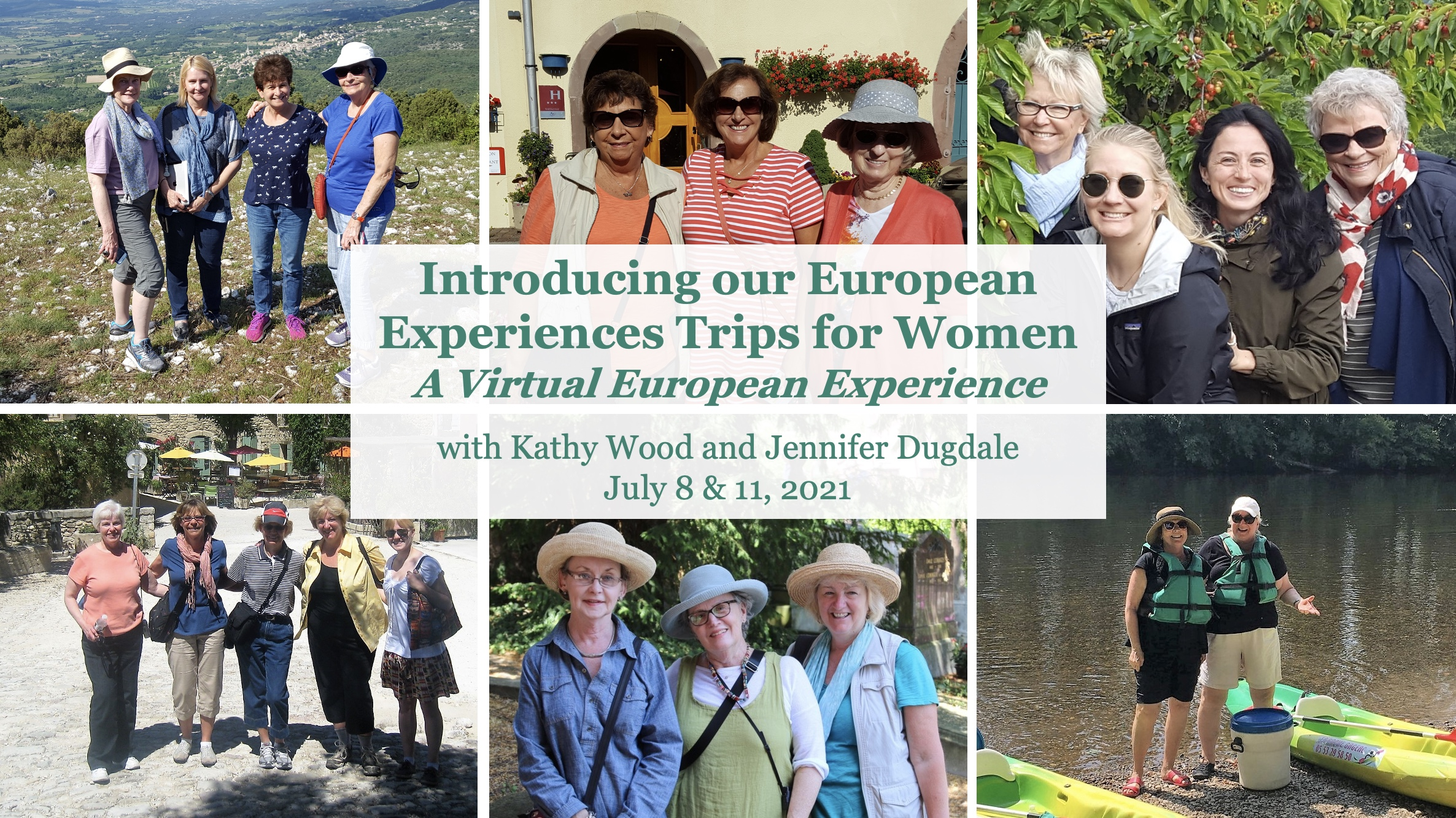Introducing our European Experiences Trips for Women